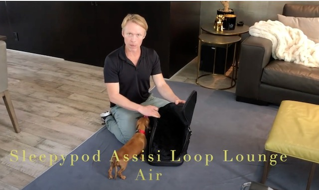 Dr. Patrick Mahaney Presents Why I Recommend the Sleepypod Assisi Loop Lounge Air for My Patients