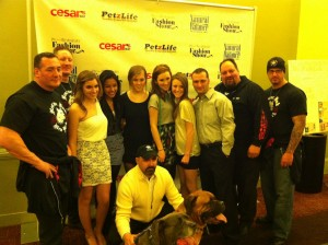 Photo of Rescue Ink Stars at the Pre Westminster Fashion Show