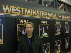 Photo of Dr Mahaney at Westminster Wall of Winners 2010