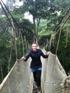 Photo of June Allison Jungle Bridge Peru