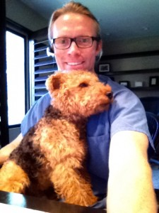 Photo of Cardiff and Dr Patrick Mahaney Participate in Bark Out Loud Weekly Chat